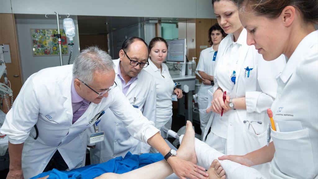 Besuch Dr Kormoua Naoleng im KSW